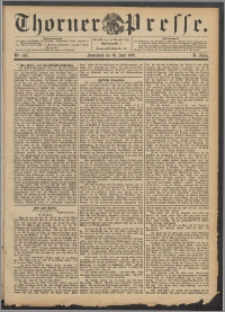 Thorner Presse 1892, Jg. X, Nro. 140