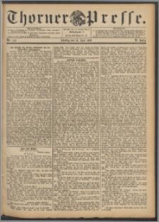 Thorner Presse 1892, Jg. X, Nro. 142