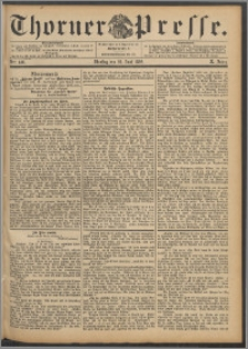 Thorner Presse 1892, Jg. X, Nro. 148