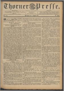 Thorner Presse 1892, Jg. X, Nro. 179 + Beilage