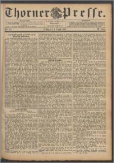 Thorner Presse 1892, Jg. X, Nro. 181 + Beilage
