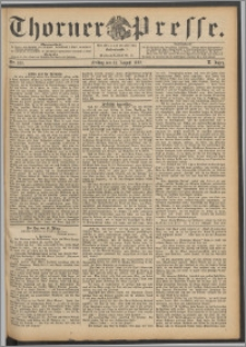 Thorner Presse 1892, Jg. X, Nro. 187