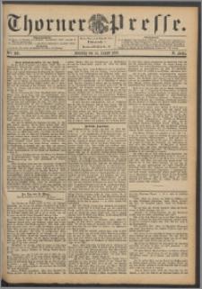 Thorner Presse 1892, Jg. X, Nro. 189 + Beilage