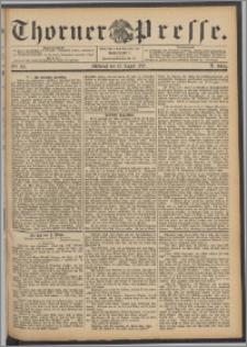 Thorner Presse 1892, Jg. X, Nro. 191