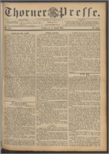 Thorner Presse 1892, Jg. X, Nro. 193