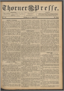 Thorner Presse 1892, Jg. X, Nro. 195 + Beilage