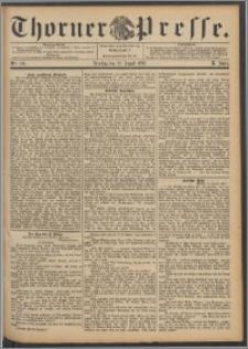 Thorner Presse 1892, Jg. X, Nro. 196