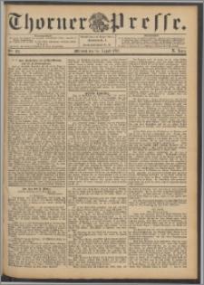 Thorner Presse 1892, Jg. X, Nro. 197