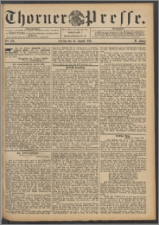 Thorner Presse 1892, Jg. X, Nro. 199