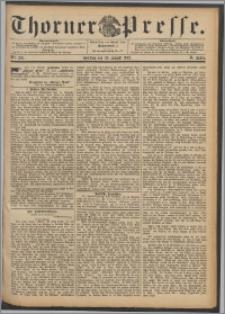 Thorner Presse 1892, Jg. X, Nro. 201 + Beilage