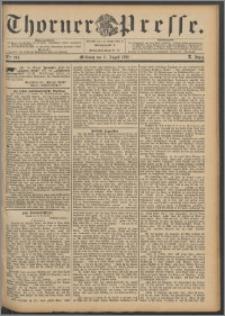 Thorner Presse 1892, Jg. X, Nro. 203