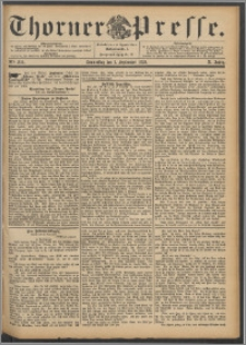 Thorner Presse 1892, Jg. X, Nro. 204