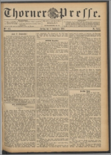 Thorner Presse 1892, Jg. X, Nro. 205
