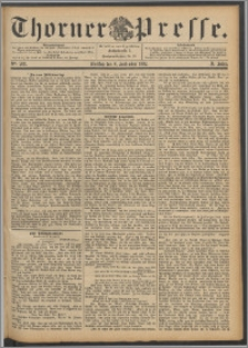 Thorner Presse 1892, Jg. X, Nro. 208