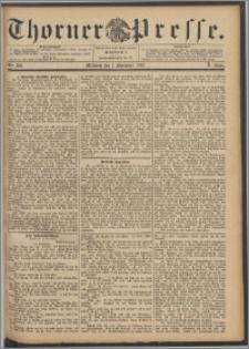 Thorner Presse 1892, Jg. X, Nro. 209