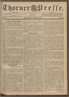 Thorner Presse 1892, Jg. X, Nro. 210 + Beilage