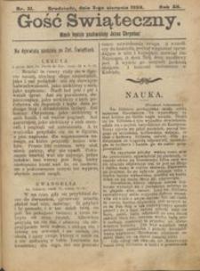 Gość Świąteczny 1906.08.05 R. XII nr 31