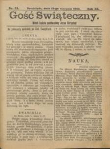 Gość Świąteczny 1906.08.19 R. XII nr 33