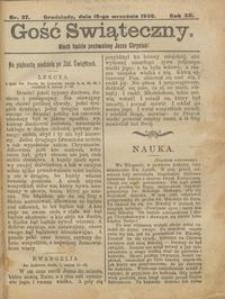 Gość Świąteczny 1906.09.16 R. XII nr 37