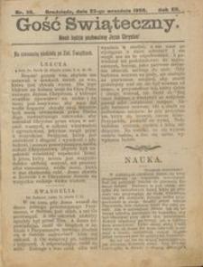 Gość Świąteczny 1906.09.23 R. XII nr 38