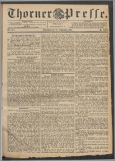 Thorner Presse 1892, Jg. X, Nro. 224