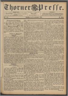 Thorner Presse 1892, Jg. X, Nro. 225 + Beilage, Beilagenwerbung