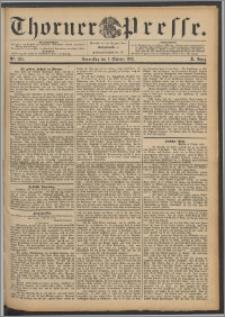 Thorner Presse 1892, Jg. X, Nro. 234 + Beilage, Beilagenwerbung