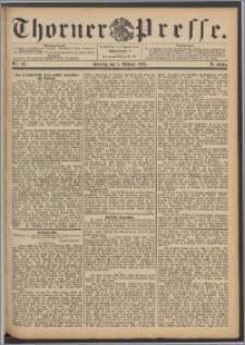 Thorner Presse 1892, Jg. X, Nro. 237 + Beilage