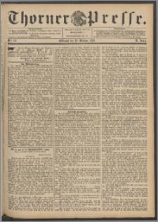 Thorner Presse 1892, Jg. X, Nro. 251 + Beilage