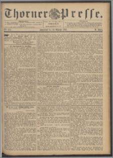 Thorner Presse 1892, Jg. X, Nro. 254 + Beilage
