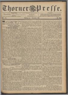 Thorner Presse 1892, Jg. X, Nro. 256 + Beilagenwerbung