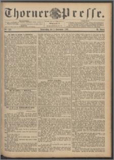 Thorner Presse 1892, Jg. X, Nro. 258 + Beilage