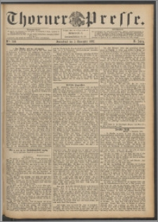 Thorner Presse 1892, Jg. X, Nro. 260
