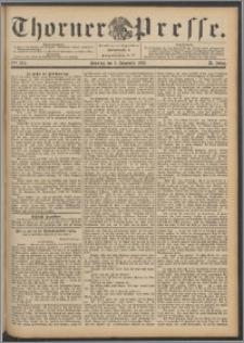 Thorner Presse 1892, Jg. X, Nro. 261 + Beilage
