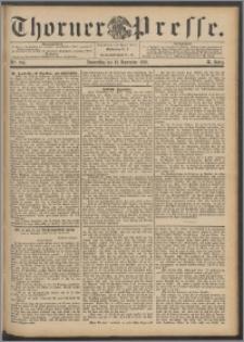 Thorner Presse 1892, Jg. X, Nro. 264