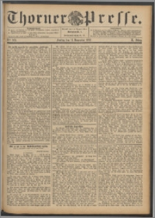 Thorner Presse 1892, Jg. X, Nro. 265