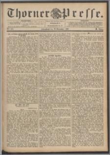 Thorner Presse 1892, Jg. X, Nro. 272 + Beilagenwerbung
