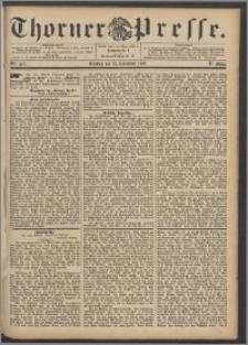 Thorner Presse 1892, Jg. X, Nro. 274