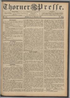 Thorner Presse 1892, Jg. X, Nro. 275