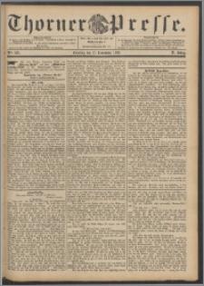Thorner Presse 1892, Jg. X, Nro. 279 + Beilage, Beilagenwerbung