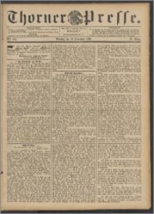 Thorner Presse 1892, Jg. X, Nro. 280