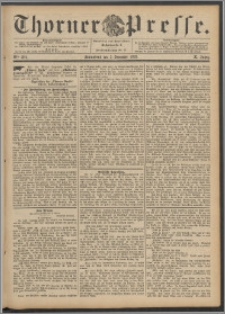 Thorner Presse 1892, Jg. X, Nro. 284