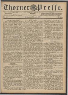 Thorner Presse 1892, Jg. X, Nro. 287