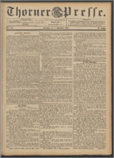 Thorner Presse 1892, Jg. X, Nro. 291 + Beilage