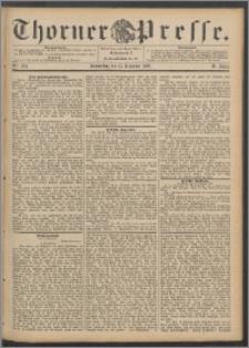 Thorner Presse 1892, Jg. X, Nro. 294 + Beilage