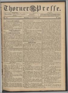 Thorner Presse 1892, Jg. X, Nro. 300 + Beilage