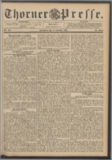 Thorner Presse 1892, Jg. X, Nro. 302 + Beilage