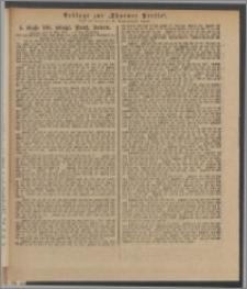 Thorner Presse: 4 Klasse 186. Königl. Preuß. Lotterie 24 Mai 1892 8. Tag