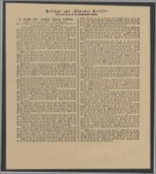 Thorner Presse: 2 Klasse 187. Königl. Preuß. Lotterie 11 August 1892 3. Tag