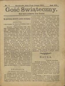 Gość Świąteczny 1907.02.17 R. XIV nr 7